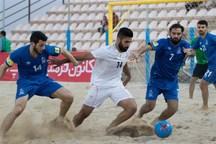 تیم فوتبال ساحلی ایفا اردکان، موج گناوه را شکست داد