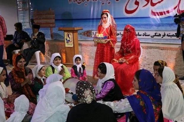 جشنواره آئین های سنتی ازدواج در آستارا برپا شد