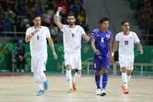 قهرمانی تیم ملی فوتسال ایران با پیروزی مقابل اوکراین  جاوید کار را تمام کرد