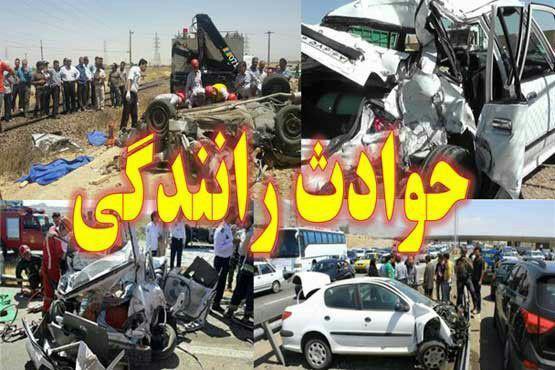 2نفر براثر آتش گرفتن تریلی در جاده ایرانشهر سوختند