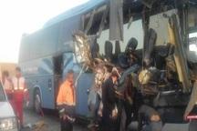 افزایش جان باختگان در حادثه اتوبوس دانش آموزان البرزی جزئیات حادثه
