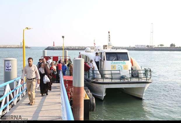 پرونده سفرهای دریایی هرمزگان با 4.6 میلیون نفر سفر بسته شد