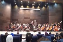 نوای ارکستر ملی ایران در بجنورد طنین انداز شد