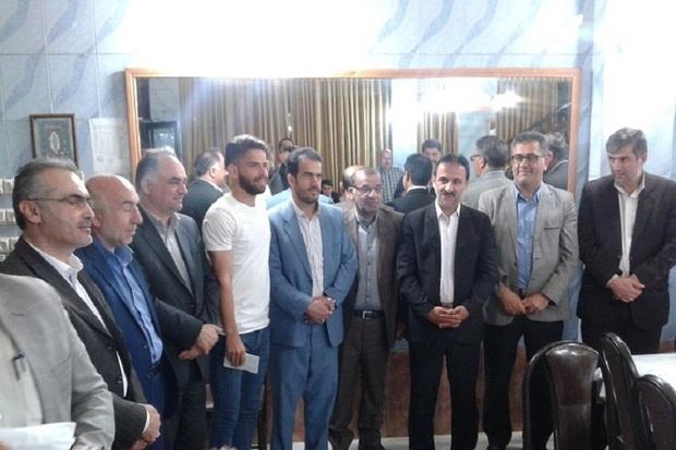 صعود مقاومت آستارا به لیگ برتر گیلان جشن گرفته شد