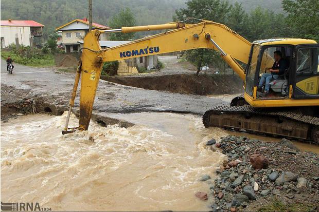 سیلاب به 700 سردهنه زراعی مازندران آسیب زد