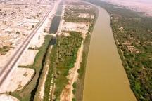 طرح ساماندهی ساحل رودخانه بهمنشیر در آبادان آغاز شد