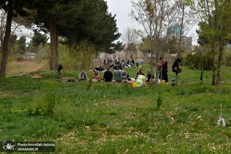 روز طبیعت در حرم مطهر حضرت امام خمینی(س) - 2