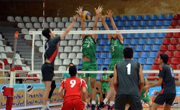 مسابقات والیبال زیرگروه مردان کشور در رشت آغاز شد