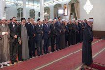 حضور بشار اسد در یک مسجد در دمشق+ تصاویر