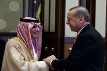 بازگشت اردوغان و الجبیر به موضع گیری تند خود علیه سوریه و سکوت روسیه