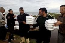 امدادرسانی سپاه قزوین به 6 هزار خانوار در گلستان