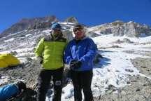 بلندترین قله قاره آمریکا، زیر پای بانوی کوهنورد گیلانی