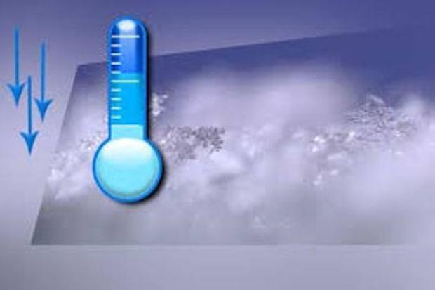 دمای هوا در استان مرکزی تا پنج درجه سردتر می شود