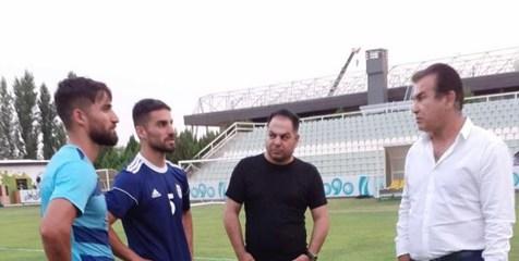 دیدار دوقلوهای محمدی با استیلی در اردوی تیم امید + عکس