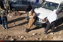 جان باختن یکی از نیروهای هوانیروز حین امدادرسانی به زلزلهزدگان + عکس