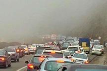 ترافیک سنگین جاده کندوان را به سمت تهران یکطرفه کرد