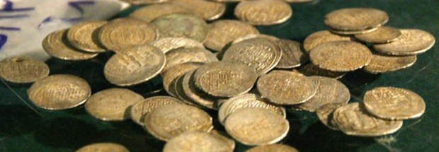 کشف سکههای اشکانی قاچاق در فرودگاه کیش