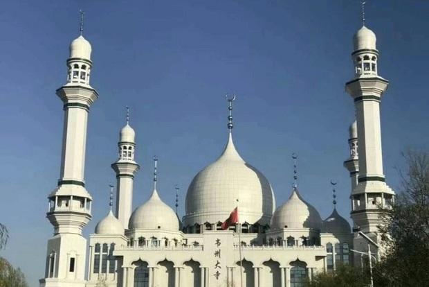مردم چین مانع تخریب یک مسجد بزرگ شدند + عکس