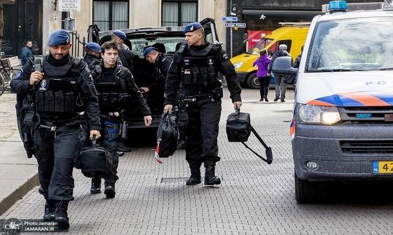 تیراندازی در هلند/ احتمال تروریستی بودن حادثه+ تصاویر