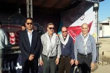 آنتن دهی و سرویس دهی 24 ساعته شرکت مخابرات خوزستان در مرزهای شلمچه و چذابه