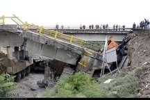 پل ها در مازندران ناتوان در برابر سیلاب