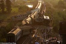 سانحه مرگبار قطار مصر+ تصاویر