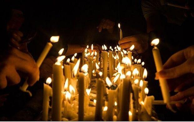 آیین روشن کردن ۴۱ شمع در ۴۱ مسجد در روز تاسوعا