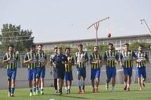 تمرینات تیم فوتبال گسترش فولاد تبریز آغاز شد