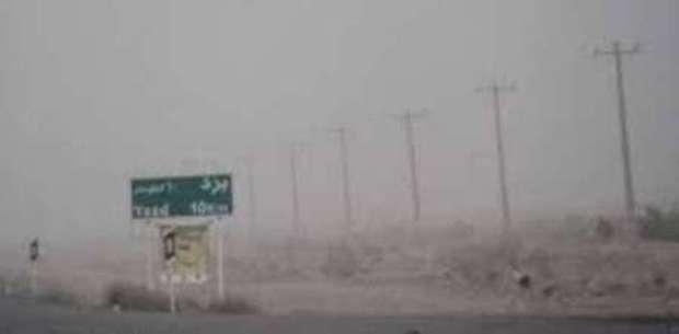 توفان در راه یزد و احتمال خسارت هست