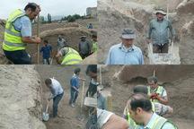 اجرای عملیات مرحله چهارم از خاکبرداری اتاقهای اثر تاریخی کهنه قالا انجام شد