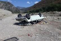 واژگونی خودرو در جاده اصفهان- شاهین شهر 6 مصدوم برجا گذاشت