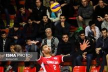 مصاف شهرداری تبریز با قعرنشین جدول لیگ والیبال
