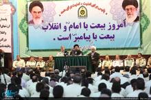 دیدار فرماندهان نیروی انتظامی با سید حسن خمینی