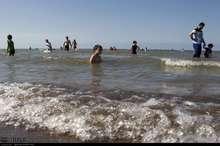 سواحل گیلانی خزر تا اواسط هفته برای شنا مناسب نیست