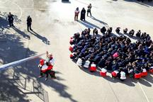 مانور مقابله با زلزله در مدارس بروجرد اجرا شد