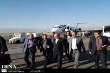 وزیر ورزش و جوانان وارد شیراز شد