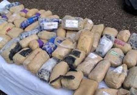 کشف محموله 58 کیلو گرمی مواد مخدر از اتوبوس مسافربری در مشهد