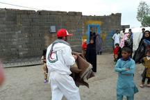 217 نفر گرفتار سیلاب سیستان و بلوچستان اسکان داده شدند