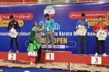 شیرازی ها در پیکارهای بین المللی کاراته 2 مدال کسب کردند