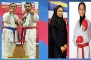 دانشجویان سمنانی به اردوی تیم ملی کاراته راه یافتند