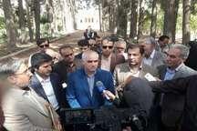 انتقاد استاندار خراسان جنوبی از شرایط نامطلوب نگهداری باغ های تاریخی شوکت آباد و امیرآباد بیرجند
