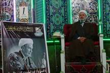 مراسم بزرگداشت مرحوم حجت الاسلام حسنی در سلماس برگزار شد