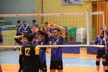 تیم والیبال شهرداری قزوین در خانه شکست خورد