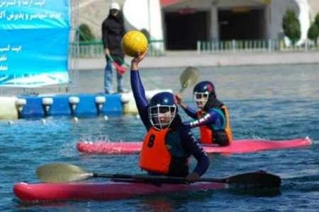 6 دختر نوشهری در اردوی تیم ملی قایقرانی جوانان