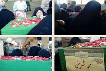 پیکر شهید مدافع حرم در پاکدشت تشییع و تدفین شد