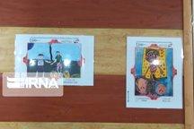 نمایشگاه بین المللی نقاشی برای کودکان بیمار در اهواز برپا شد