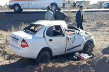 واژگونی خودرو در بلوار خروجی یزد هفت زخمی بر جا گذاشت