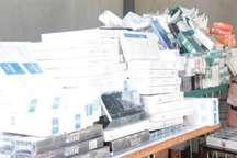 630 هزار نخ سیگار قاچاق در بندرعباس کشف شد