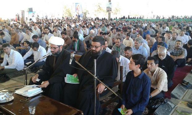برگزاری دعای روحبخش عرفه در استان یزد