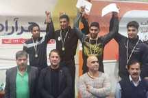 برگزیدگان مسابقات قهرمانی کشتی خراسان رضوی مشخص شدند